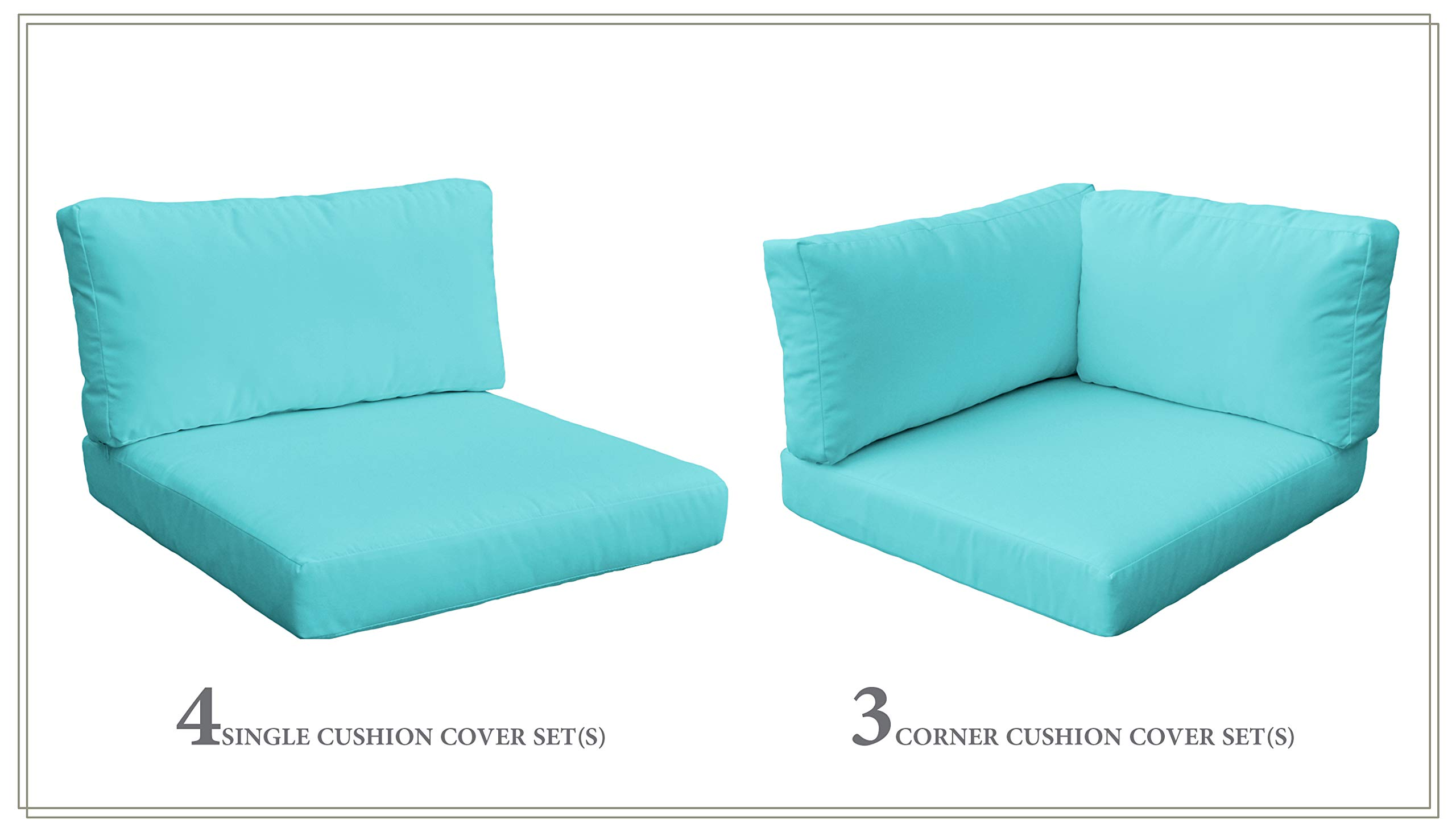TK Classics Cushion Set for MONTEREY-08b in Aruba