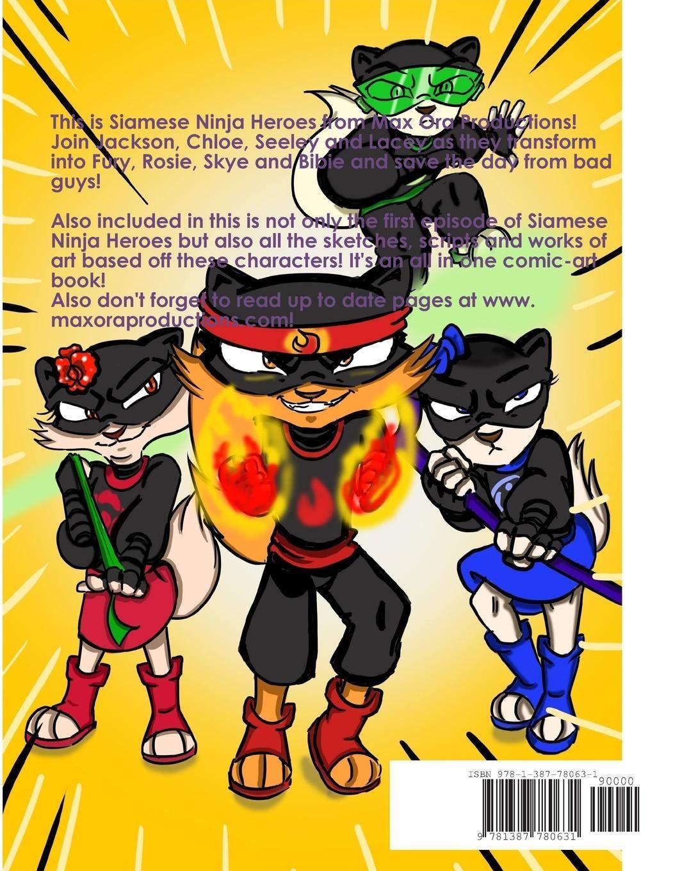 Siamese Ninja Heroes Art Book: Michael Gatti, Olivia ...