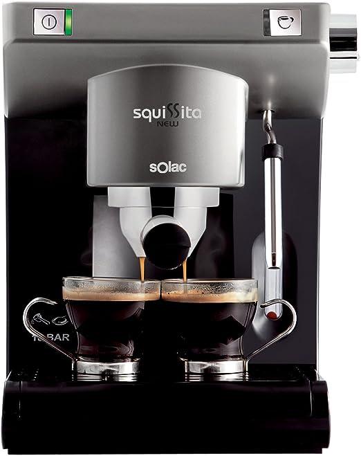Solac CE-4495 - Cafetera monodosis con deposito extraible: Amazon ...