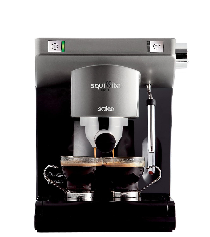 Solac CE-4495 - Cafetera monodosis con deposito extraible ...