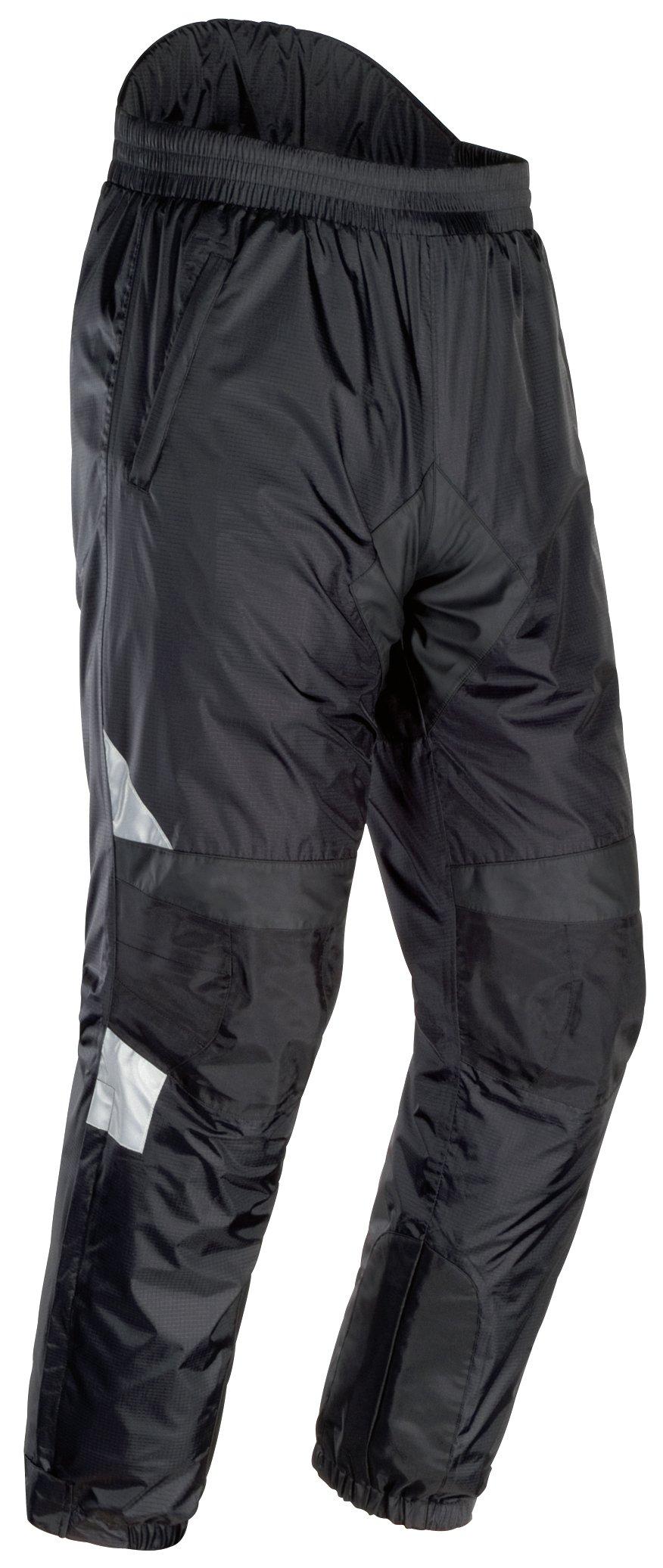 Tourmaster Women's Sentinel Rain Pants (Large Plus) (Black) by Tourmaster