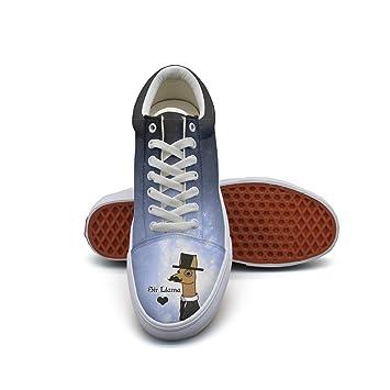 QJSY - Zapatillas de Deporte de Lona para Hombre con Traje y ...