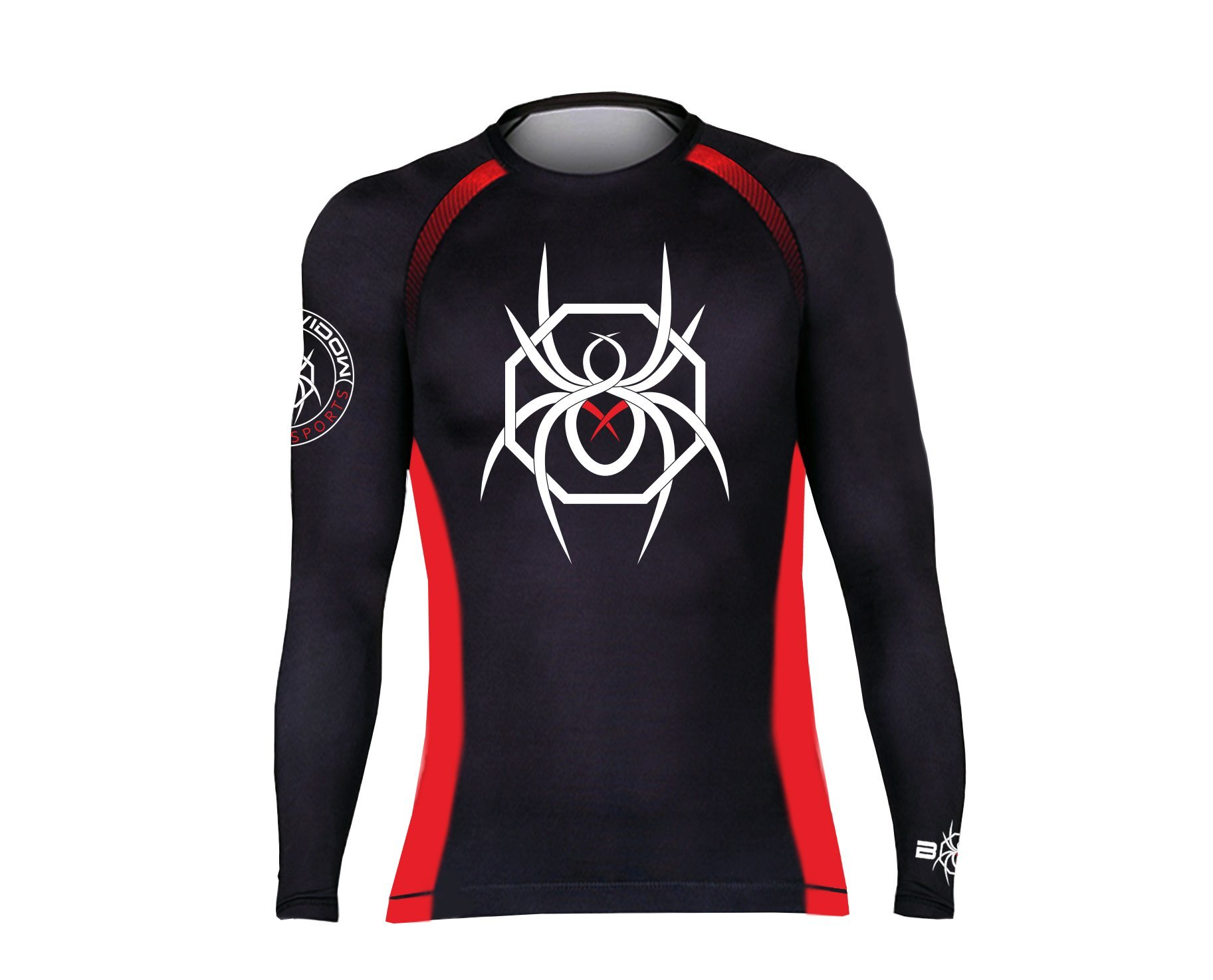 BLACK WIDOW COMBAT SPORTS Classic Rash Guard (XL) by BLACK WIDOW COMBAT SPORTS