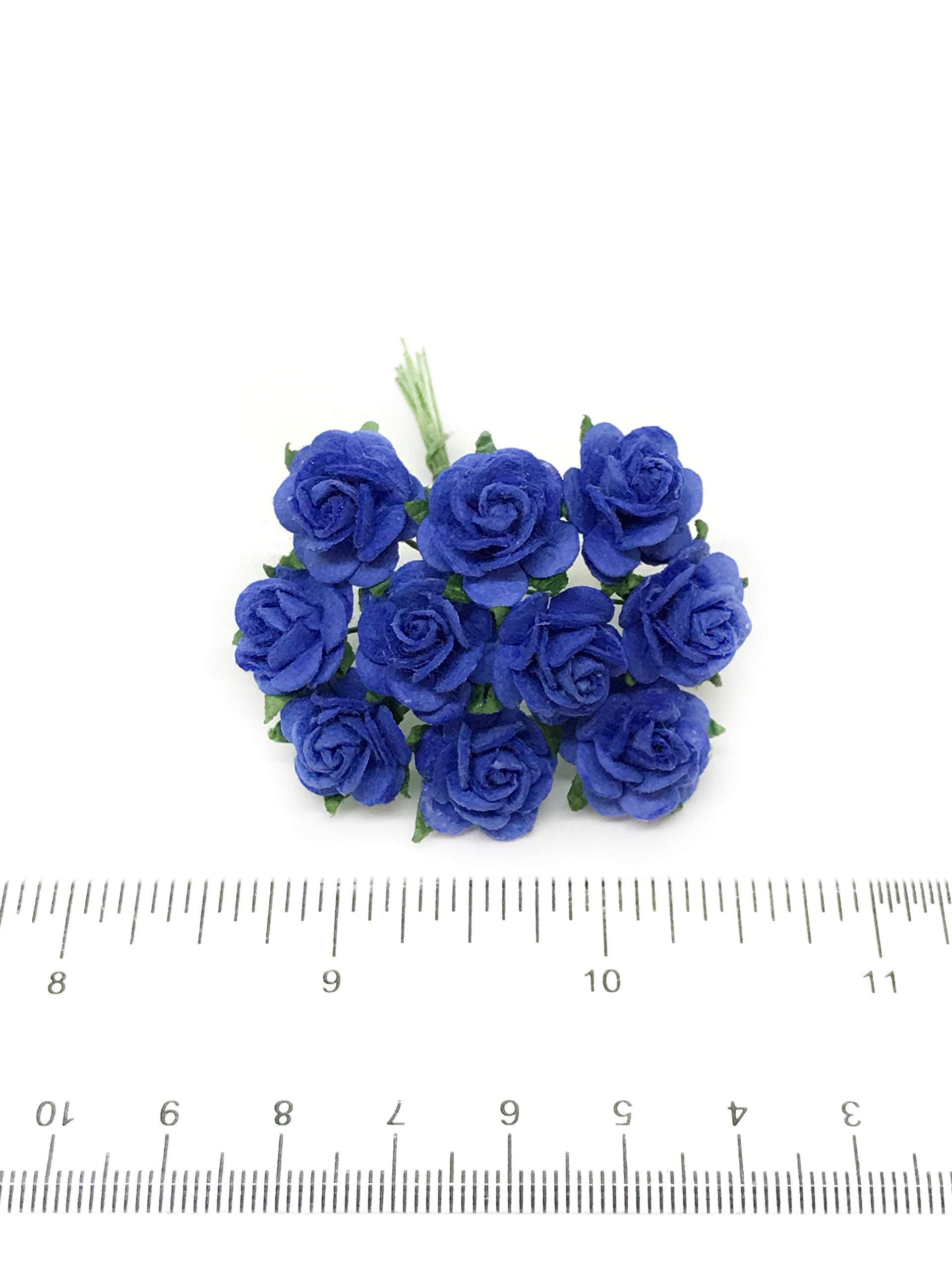 12-Royal-Blue-Mulberry-Paper-Flowers-Paper-Roses-Blue-Flowers-Floral-Crown-Flowers-DIY-Wedding-Wedding-Table-Flowers-Navy-Blue-Wedding-Artificial-Flowers-50-Pieces