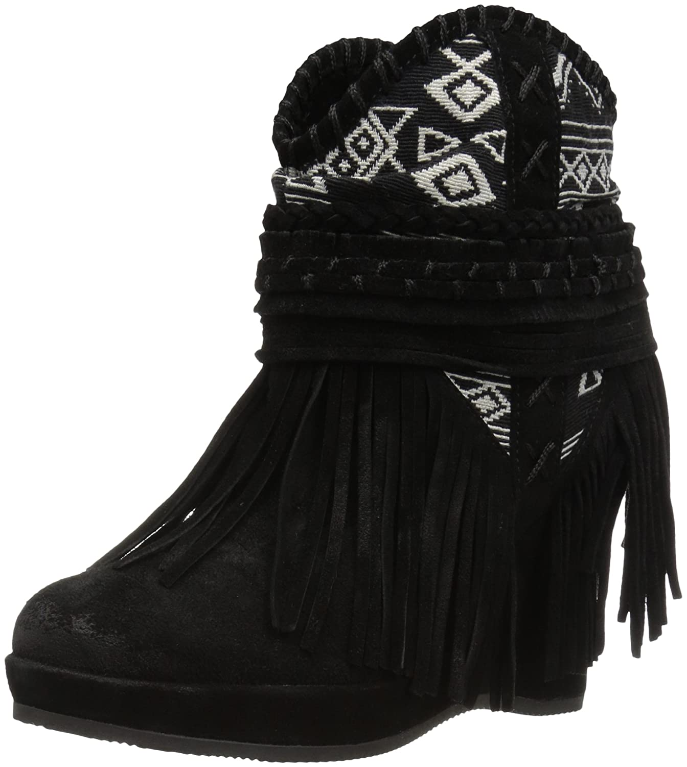 Naughty Monkey Women's Canyon Dream Ankle Bootie B01H2BRPM0 9 B(M) US|Black