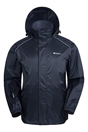 Mountain Warehouse Pakka Mens Waterproof Packable Jacket ...