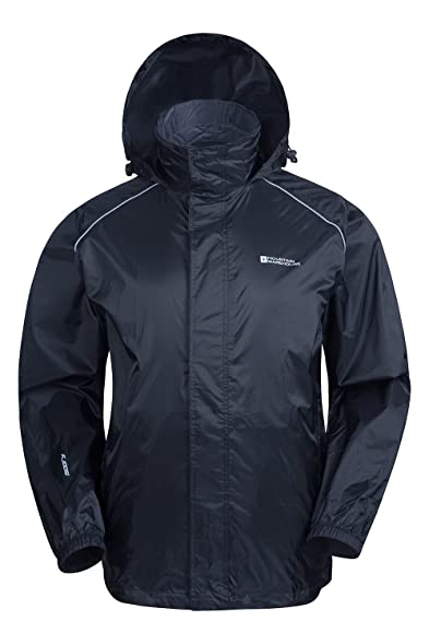 Mountain Warehouse Pakka Mens Waterproof Packable Jacket with ...