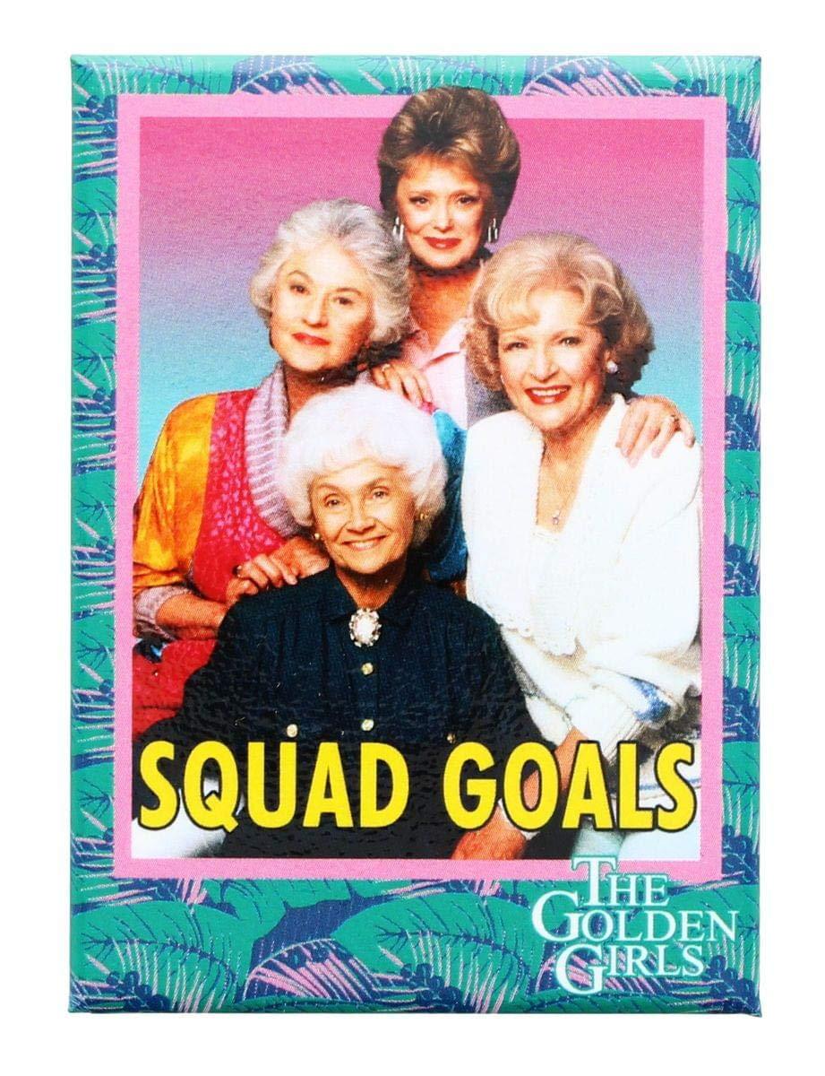 Ata Boy The Golden Girls Squad Goals 2.5\' x 3.5\' Magnet 72594M