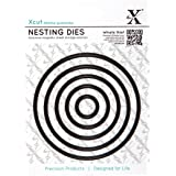 Docrafts Nesting Dies, Circle (Pack of 5)