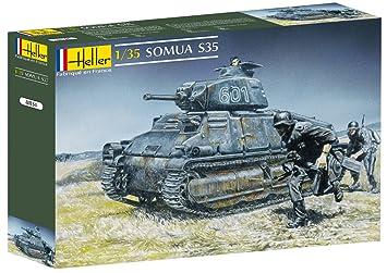 Glow2B Heller - 81134 - Maqueta para Construir - Somua S35 - 1/35