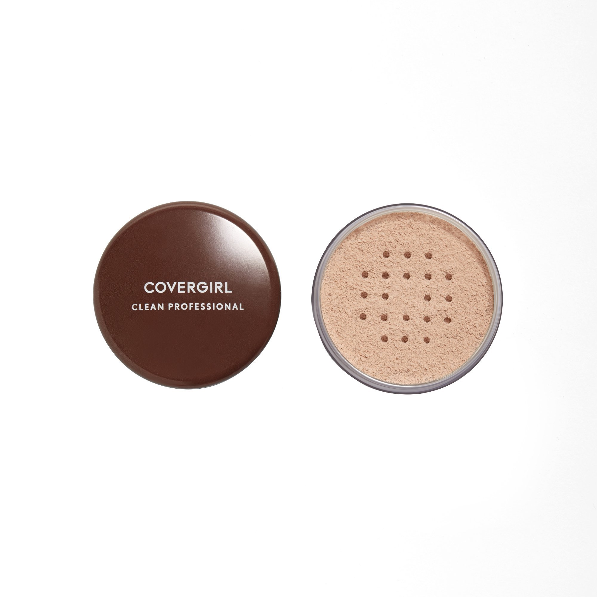 COVERGIRL Professional Loose Finishing Powder, 1 Container (0.7 oz), Translucent Light Tone, Sets Makeup, Controls Shine, Won't Clog Pores (packaging may vary)