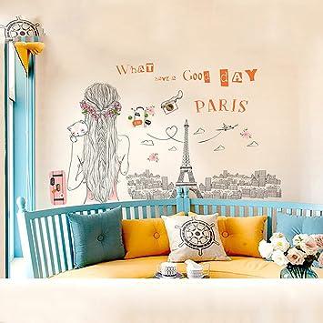 Kreatives Wohnzimmer Hintergrund Wand Selbstklebendes Tapete ...