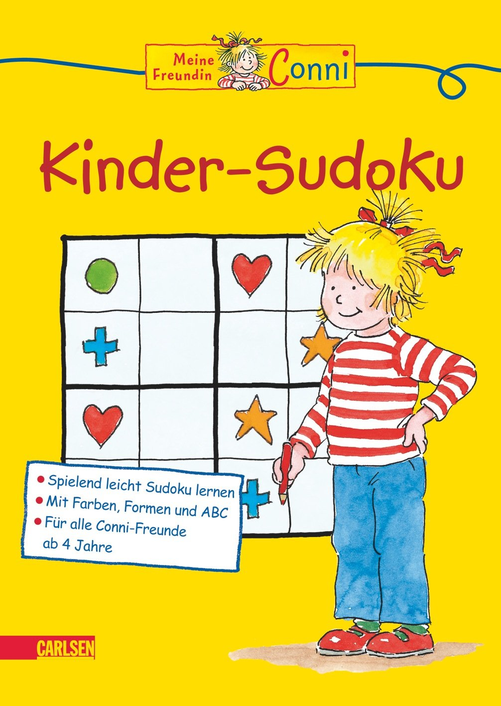 Conni Gelbe Reihe: Kinder-Sudoku: Amazon.de: Lucia Fischer, Ulrich ...