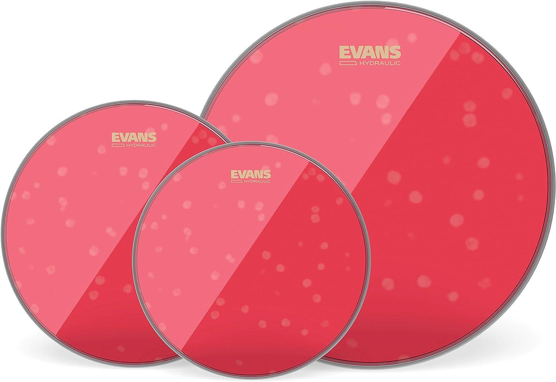 Evans Hydraulic Red. Pack fusión hidráulico rojo (10