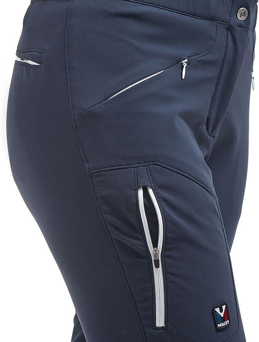 MILLET LD Tly Wool S P Pantalón Largo, Mujer, Azul (Saphir ...