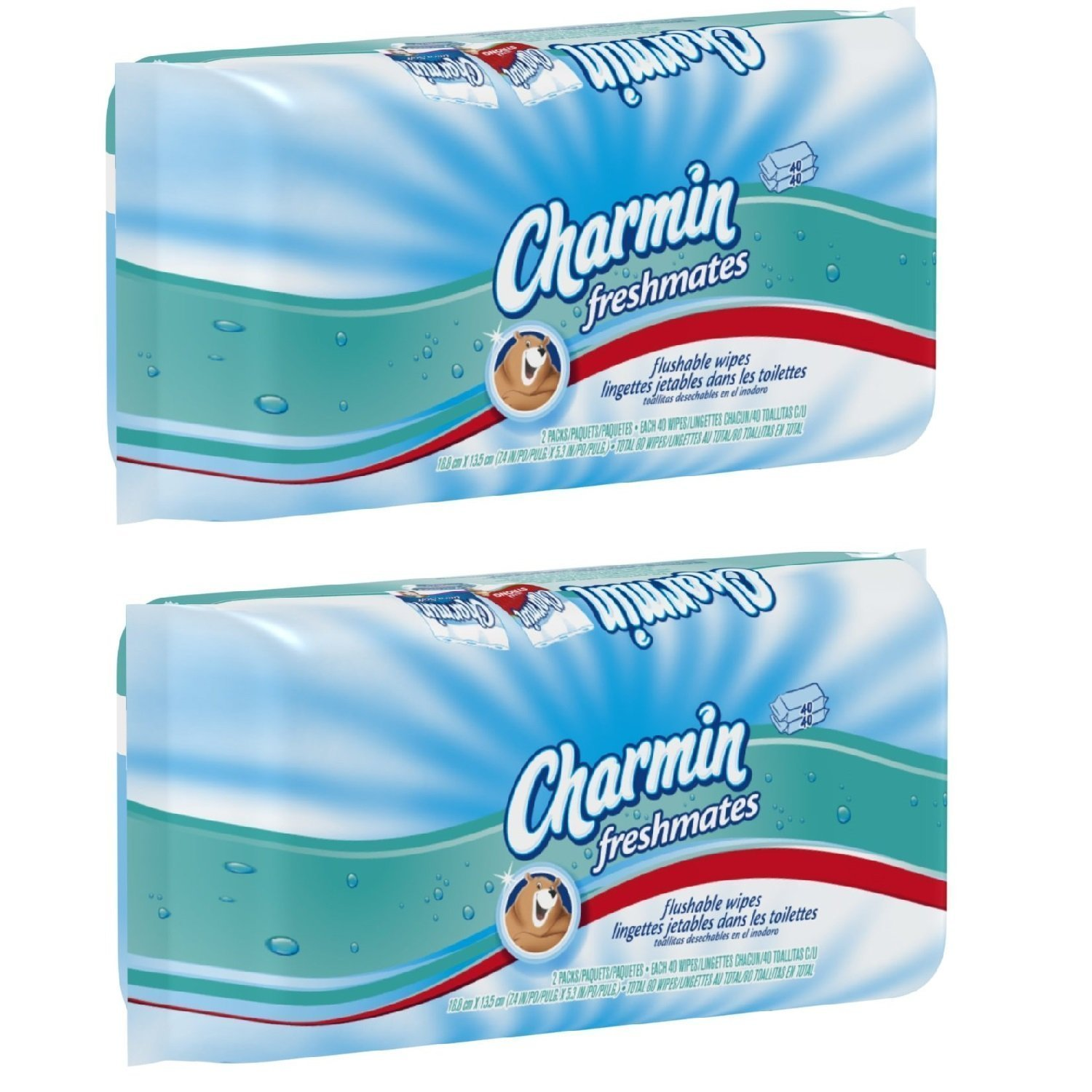 Amazon.com: Charmin Freshmates Flushable Wipes - 160 ct: Health & Personal Care
