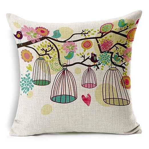 goldmice, diseño de pájaros y jaulas diseño con flores ...