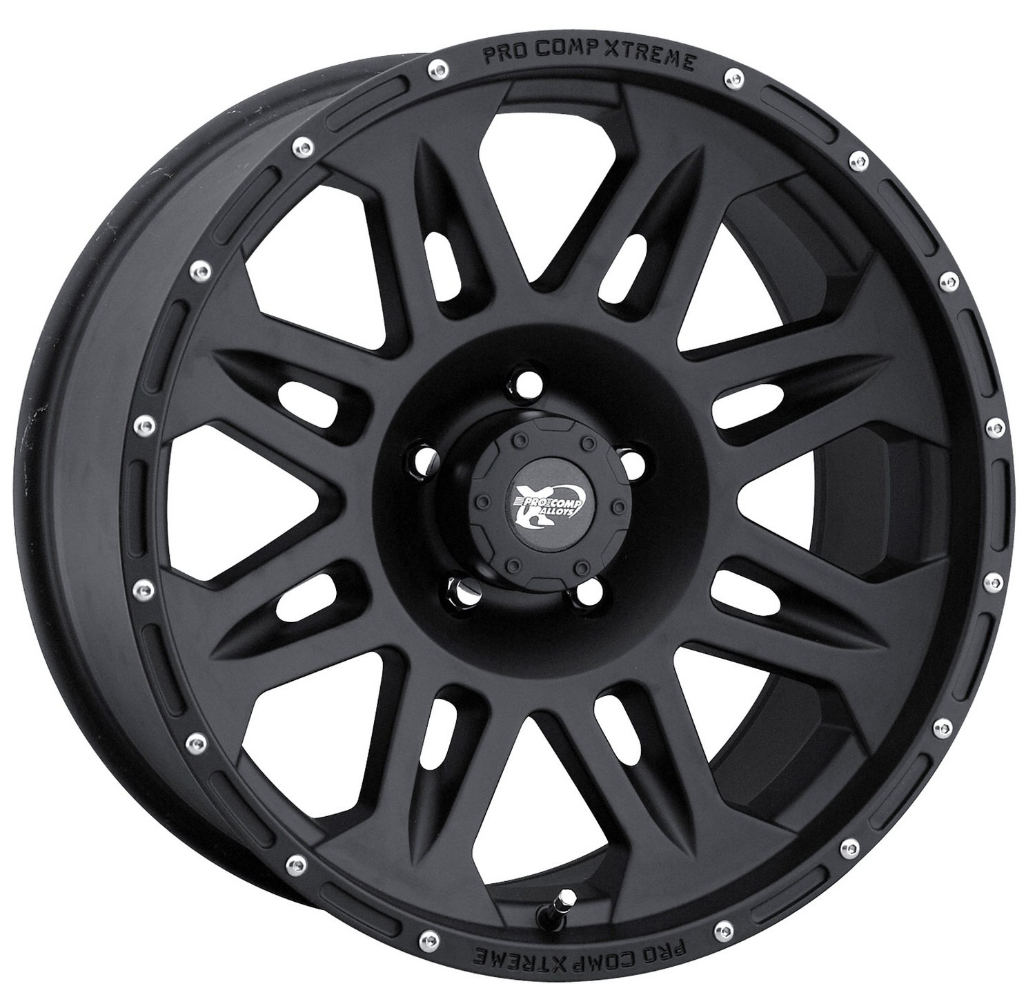 Pro Comp Alloys Series 05 Wheel with Flat Black Finish (17x8''/5x127mm)