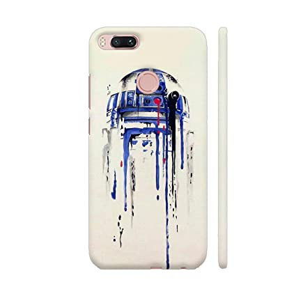 Colorpur R2D2 Printed Back Case Cover for Xiaomi Mi A1