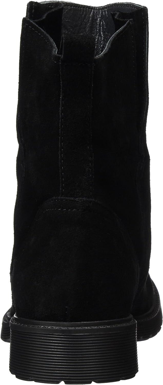 Besonderer Rabatt Günstig kaufen Top Qualität Buffalo London Damen 8036 Suede Kurzschaft Stiefel Schwarz Black 01 sDogv g5ZaM TJ6YZ