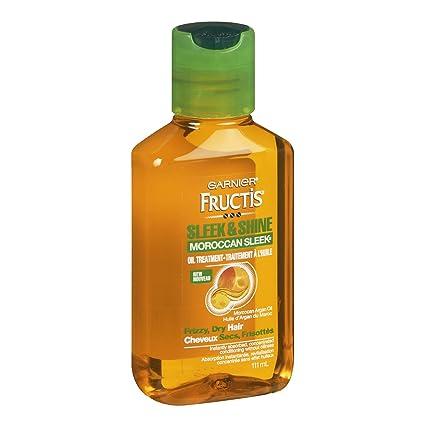 Amazon.com  Garnier Fructis Sleek   Shine Moroccan Sleek Oil Treatment,  Frizzy, Dry Hair, 3.75 fl. oz.  Beauty 5a2083bc19e