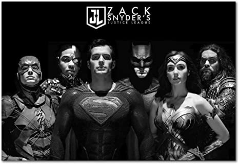 Justice League Movie Poster March 2021
