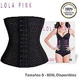 O³ Corset Reductor Adelgazante Mujer S - XXXL - 2 Colores - Fajas Reductoras Adelgazantes Para Body Mujer Lola Pink- Fajas Colombianas Cómodas y Ligeras