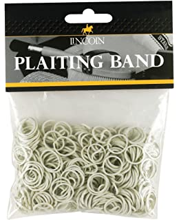 Stablekit plaiting bands silicone 450pack Various colours