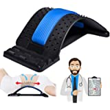 Back Stretcher, Lumbar Back Pain Relief Device, Multi-Level Back Massager Lumbar, Pain Relief for Herniated Disc…