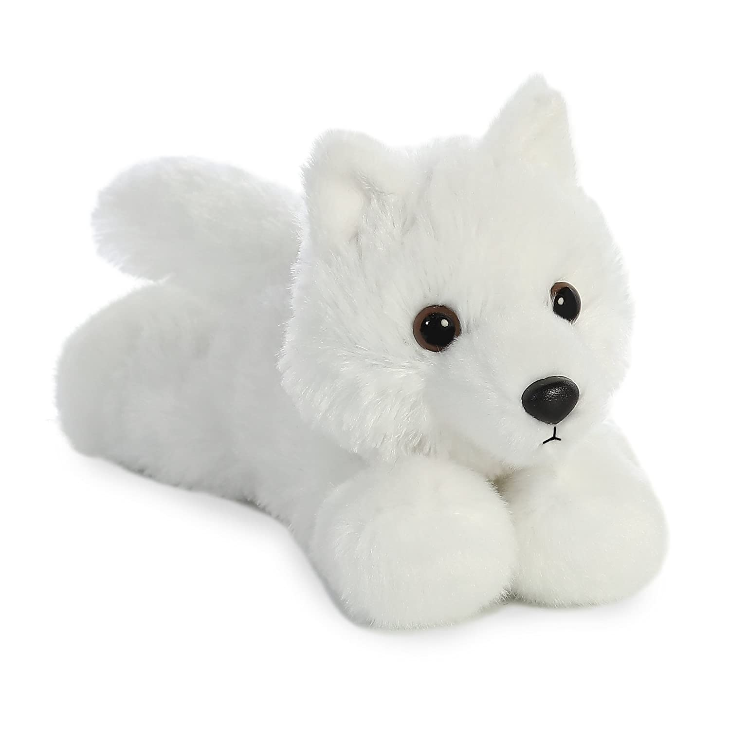 Amazon Com Aurora 8 White Wolf Toys Games