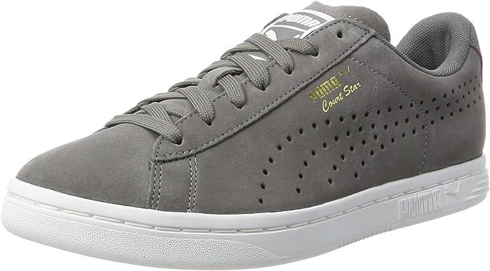 Puma Court Star Sneaker Damen Herren Unisex Grau (Quiet Shade)
