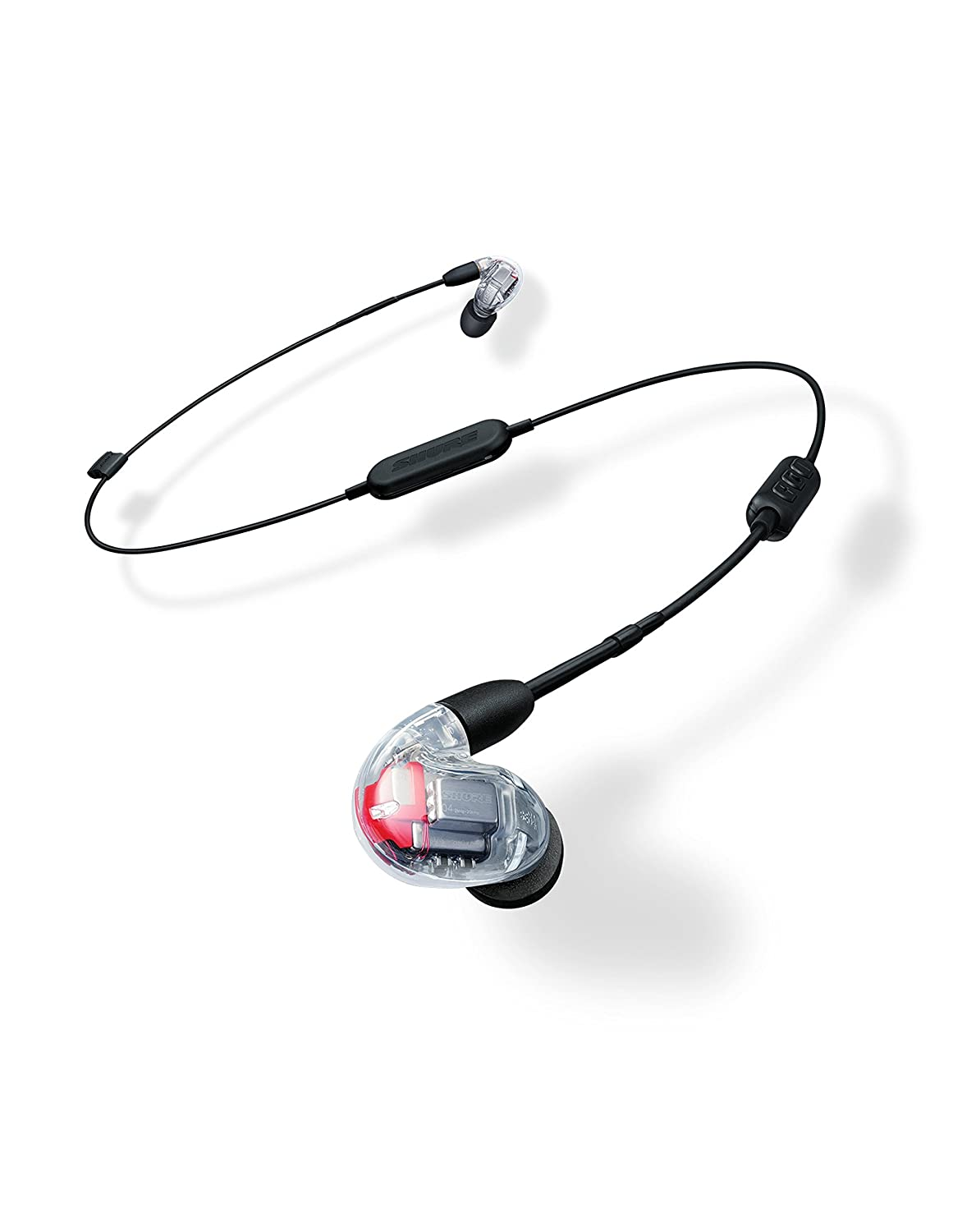 Shure SE846-CL BT1 Wireless Sound Isolating Earphones with Bluetooth Enabled Communication Cable, Clear