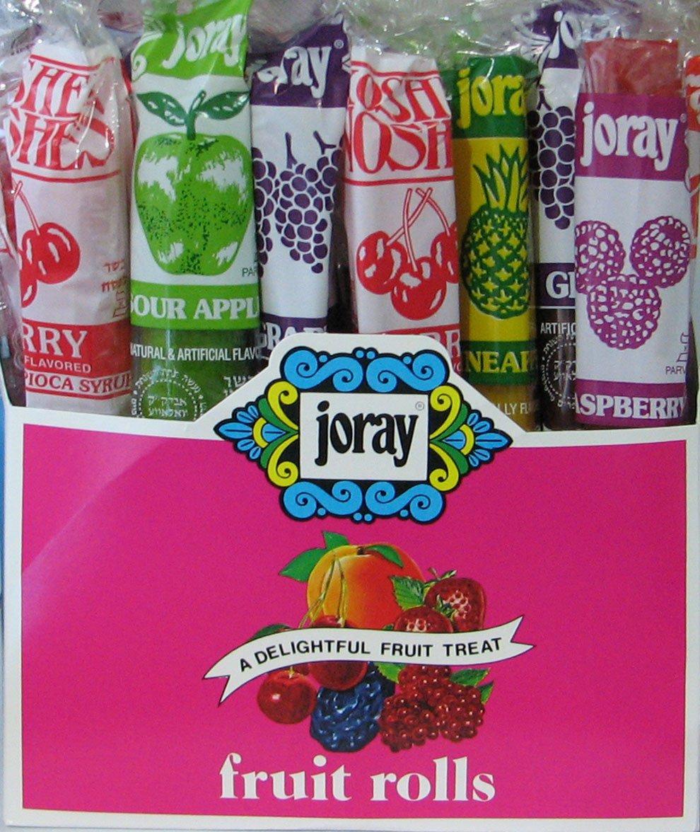 Joray Fruit Rolls 1 oz/roll 48 CT Box. Kosher by  (Image #1)
