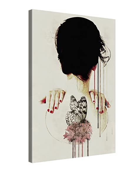 Canvas Print Wall Art - BACKAGE - 20x30cm Stretched Canvas Framed On ...