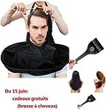 Capes de coupe Covermason Salon de coiffure de salon de coiffeur de chapeau de parapluie de chapeau de coupe de cheveux de DIY et stylistes à la maison utilisant
