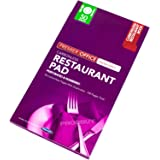 """[Pack of 10] 50 Sheet 8"""" Duplicate Restaurant Bill Pads Books Carbonless Numbered Order"""