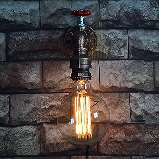Water Pipe Wandleuchte Nochx Vintage Retro Wasserleitung Licht