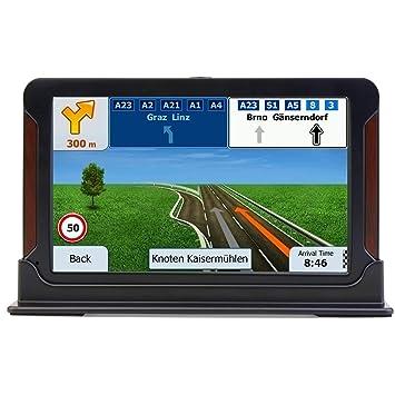 Sat Nav, 7 Pulgadas 8 GB 256 MB GPS Navigation SystemSatellite Navigator, Pantalla táctil