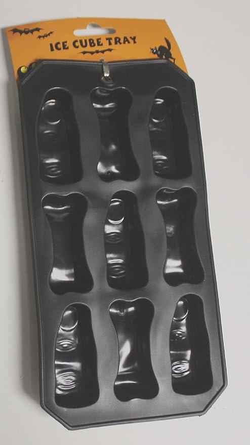Halloween Party Jello Shot Chocolate Ice cube Tray Mold Silicone FINGERS /& BONES