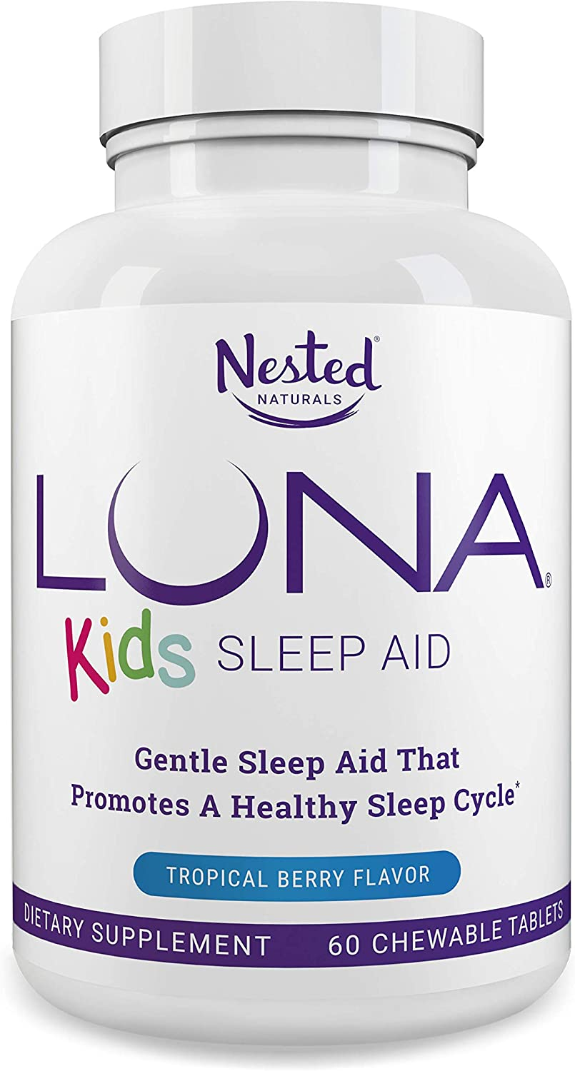 Sleep Aid Tablets for Children 4+ and Sensitive Adults by Nested Naturals