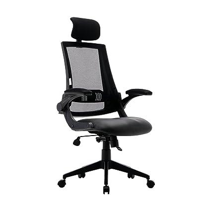 6460582ea62 Amazon.com  KADIRYA High Back Ergonomic Mesh Office Chair with ...