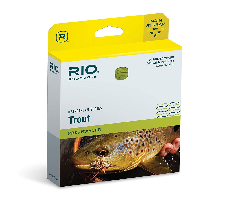 Rio Mainstream Series Fly Line Freshwater Fishing WF71 Intermediate Clear Rio Brands 6-21216