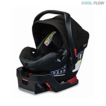 Britax B Safe Ultra Infant Car Seat Cool Flow Grey