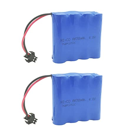 Review Hapinic 2PCS 4.8V 700mAh