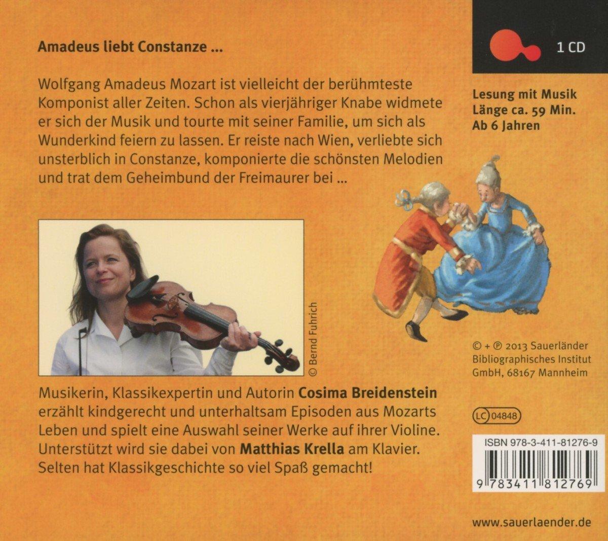 Abenteuer Klassik Mozart Sauerländer Hörbuch Tonträger Amazon
