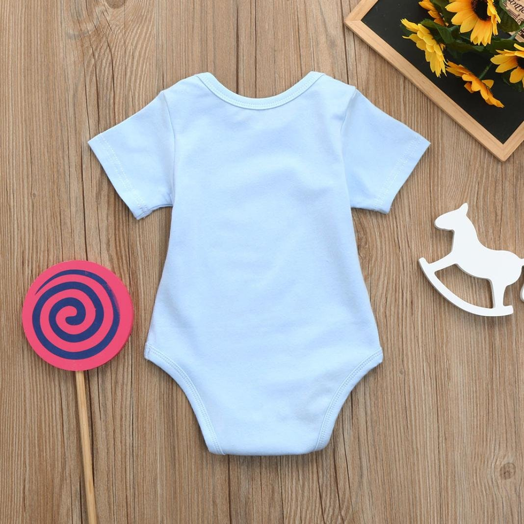 7819098c9 Staron Baby Romper Funny Got My Mind On My Mommy Summer Casual ...
