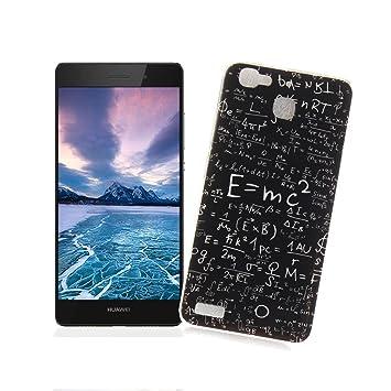 AllDo Funda para Huawei P8 Lite Smart, Carcasa Protectora Funda Suave TPU Carcasa Ultra Delgado Funda Flexible Ligero, Carcasa Anti Rasguños Anti ...