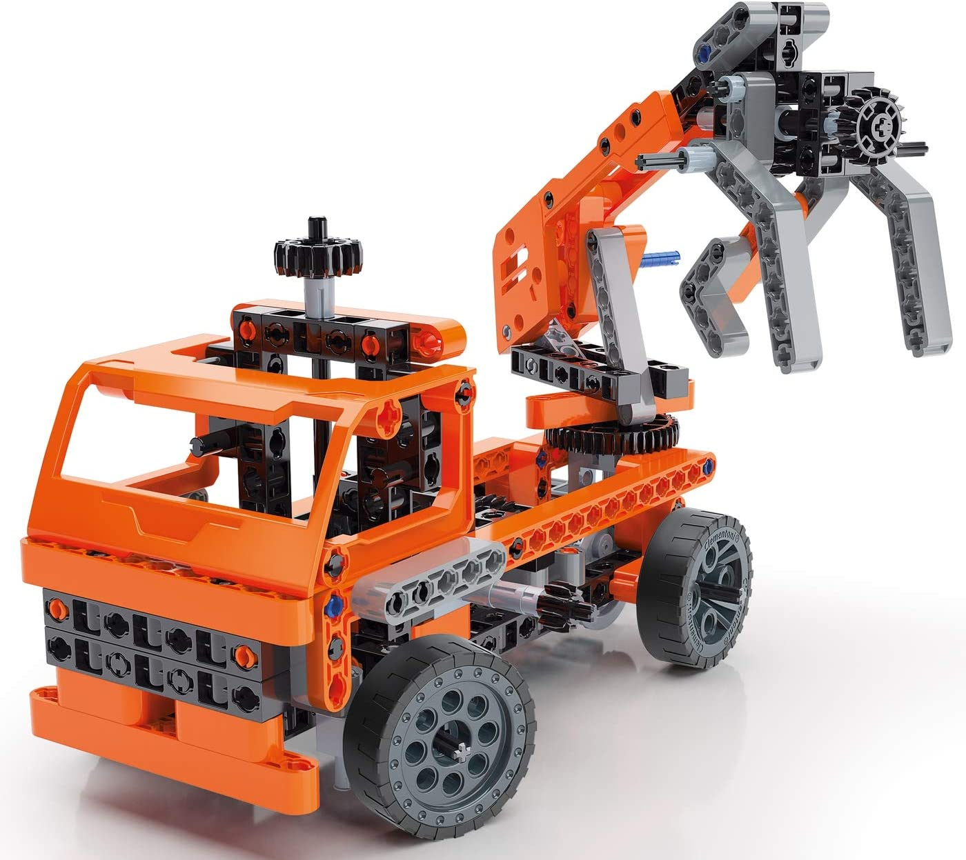 50 Model Configurations Ages 8 and Up Lifting Equipment Assembly Kit Clementoni Technologic Mechanics Laboratory