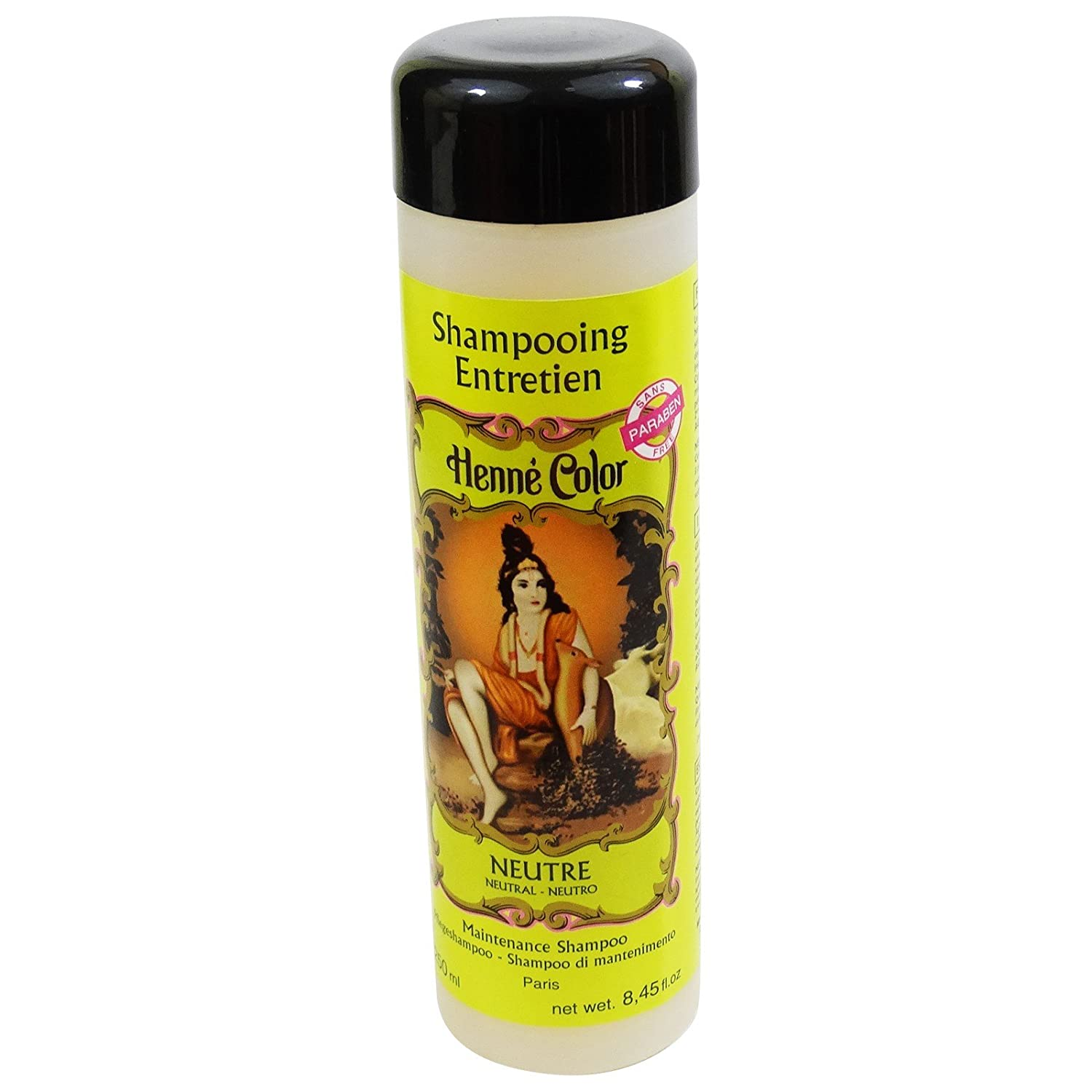 SITARAMA Henné Color - Henna Maintenance Shampoo - NEUTRAL - For frequent use and specially adapted to coloured hair