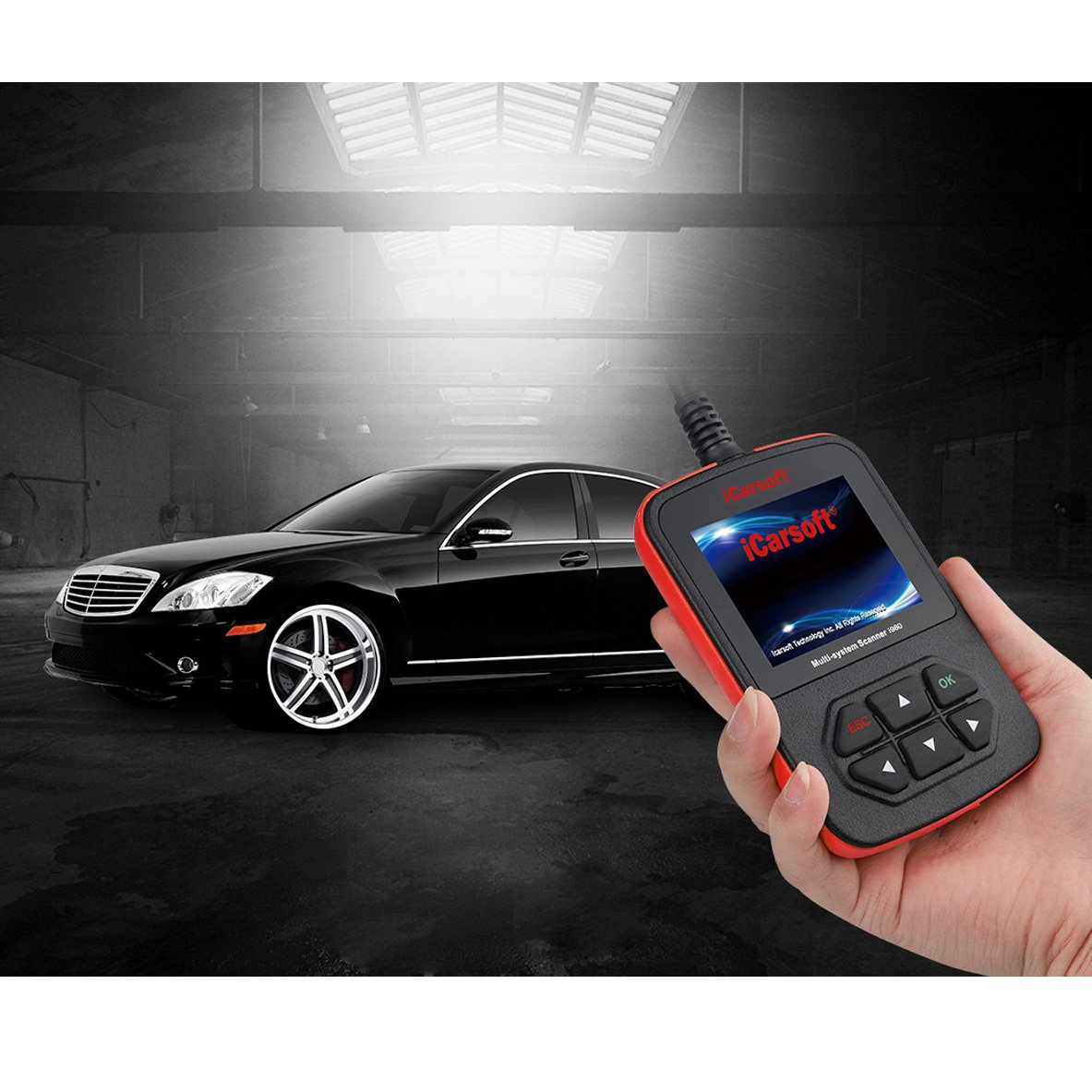 iCarsoft Genuine Mercedes Benz I980 Professional Diagnostic Scanner Tool by iCarsoft (Image #8)